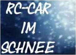 RC Car im Schnee